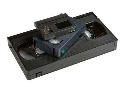 Video cassette to DVD transfer
